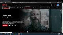 How to watch Vikings season 5 on Netflix?