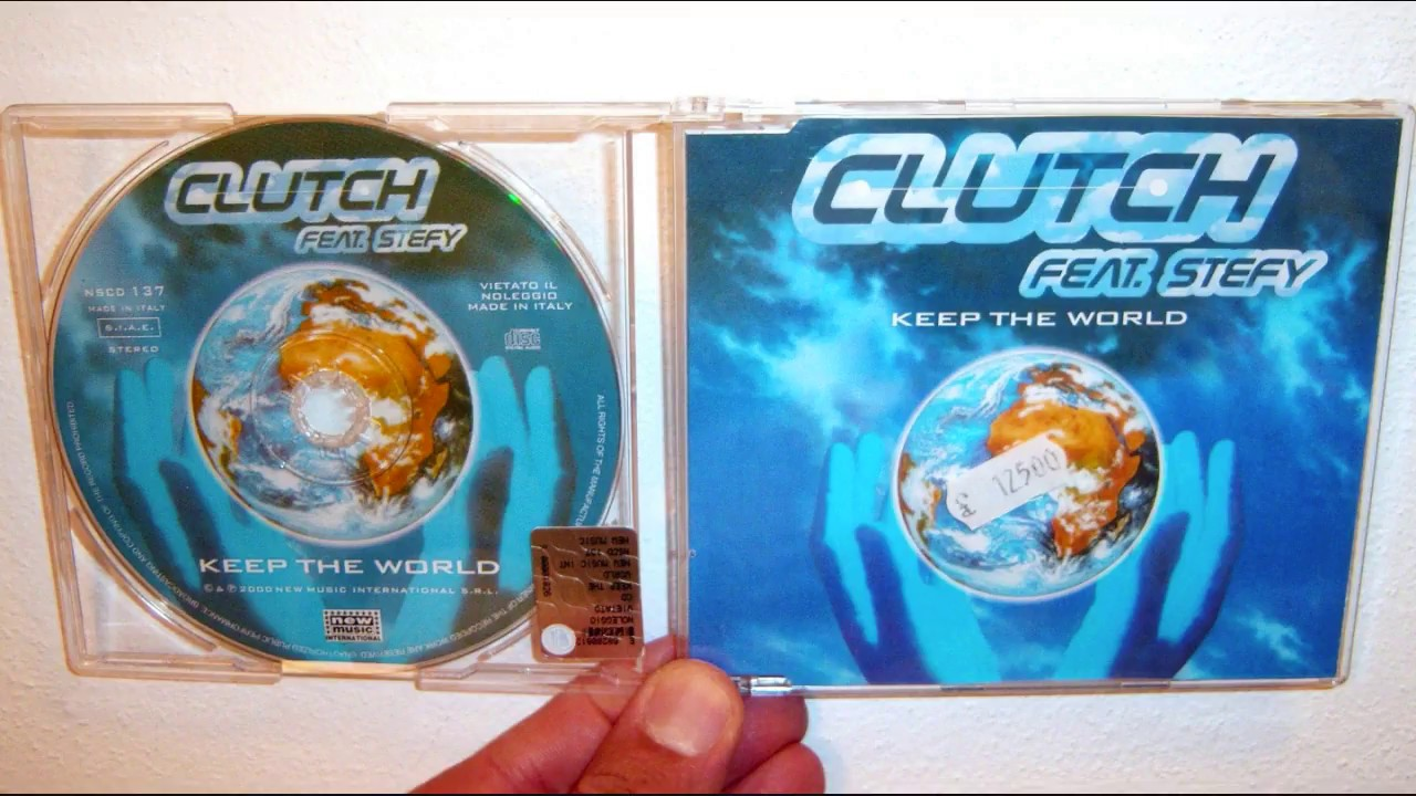 Clutch Featuring Stefy - Keep the world (2000 Extended version)
