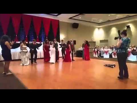 Grease Bridal Party Entrance Dance Our Wedding