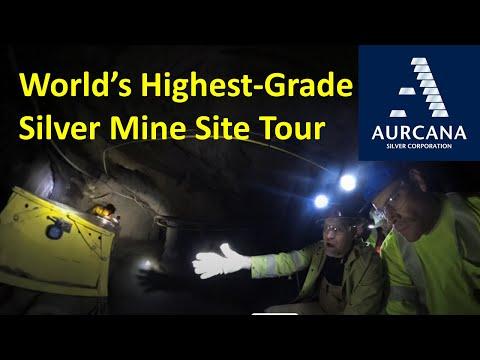 World's Highest-Grade Silver Mine Site Tour: Aurcana Silver Corporation