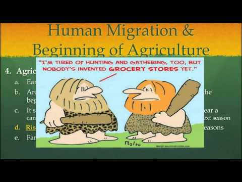 The Earliest Humans - Human Migration & Beginning of Agriculture Part 2 (2016)
