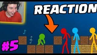 REACTION: Animation Vs Minecraft! #5