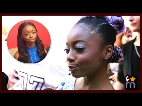 Skai Jackson Reacts to Viral Meme & Makes New Meme Interview