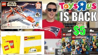 2020 LEGO DC Minifigures, 2019 LEGO Star Wars Christmas X-Wing? Toys R Us RETURNS! | LEGO NEWS!