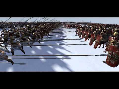 Total War Rome 2 Machinima Battle - Seleucid Empire vs Rome
