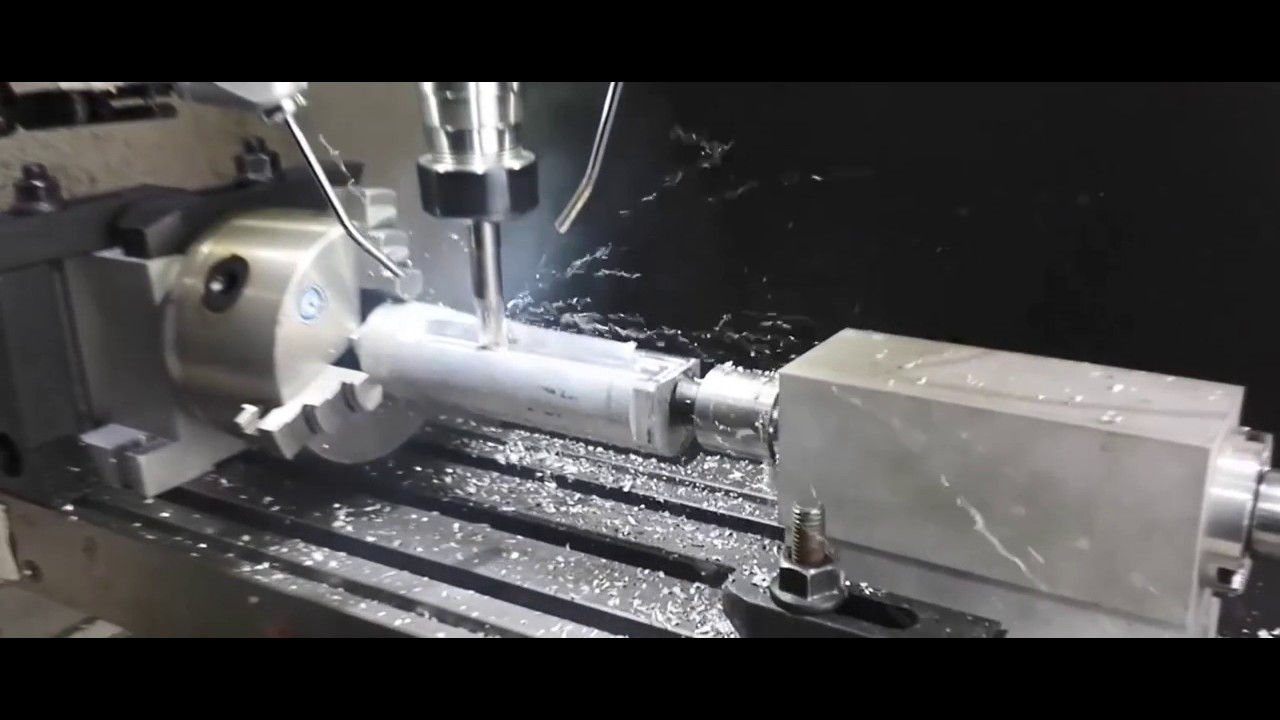 Cnc 4th Axis Milling