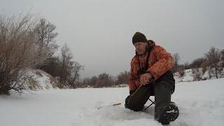 Зимняя рыбалка на мормышку 2021 ловля плотвы в феврале
