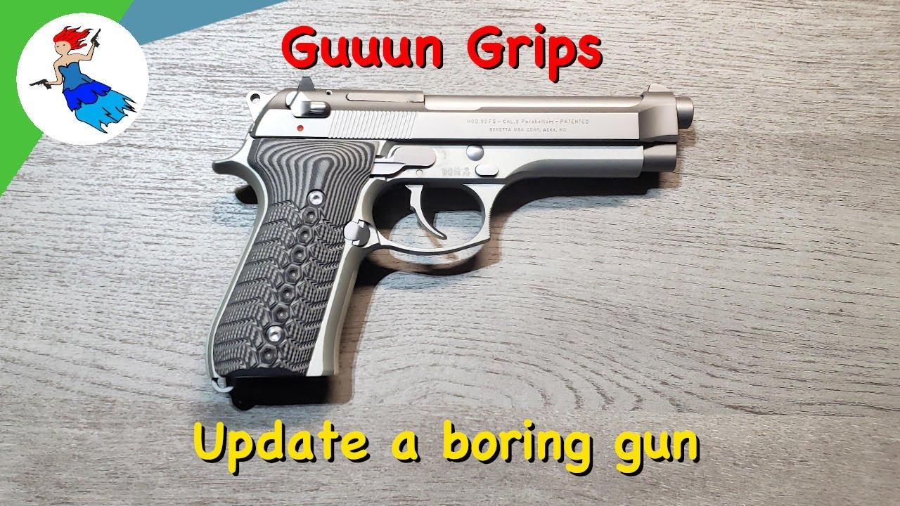 Guuun Grips // Custom G10 Grips for Beretta 92