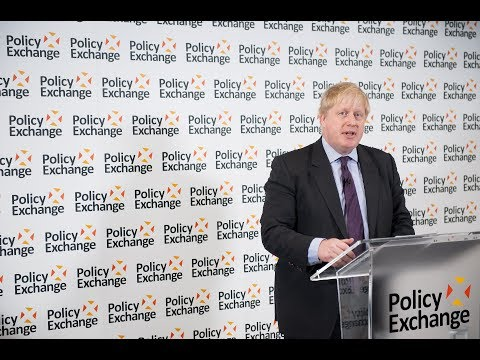 Foreign Secretary sets out vision for Brexit at Policy Exchange