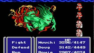 Final Fantasy III (NES): Cloud of Darkness Final Boss & Ending