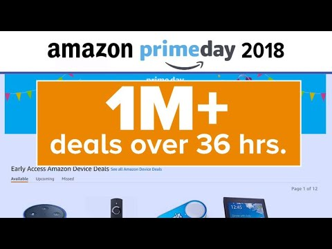 Amazon Prime Day becomes a 36-hour event