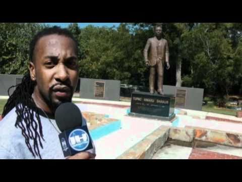2PAC Peace Garden Tour With Carlos Coleman