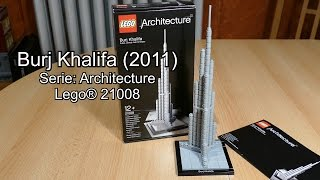 LEGO Burj Khalifa 2011 Review (Set Nr. 21008 Architecture Test deutsch)