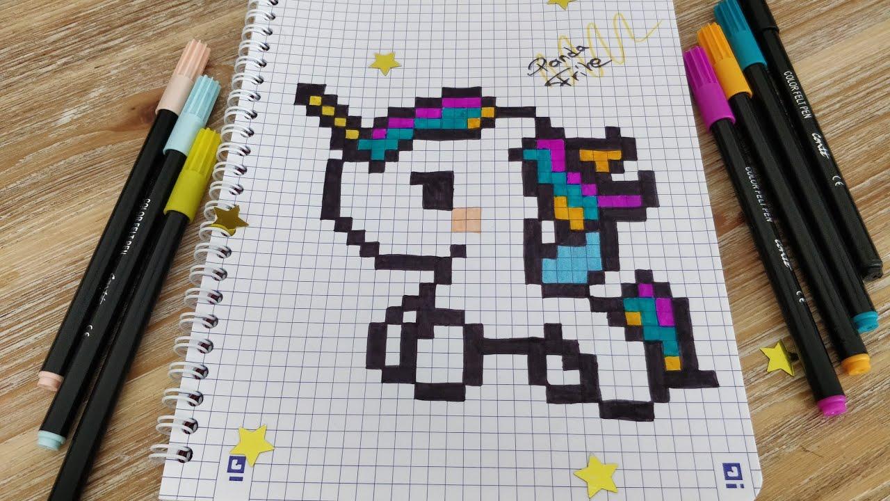 Pixel Art Licorne