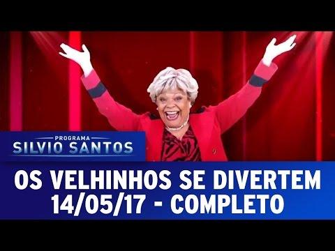 Os Velhinhos Se Divertem - Completo | Programa Silvio Santos (14/05/17)