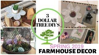 DOLLAR TREE DIY FARMHOUSE DECOR 2019/ON A BUDGET FARMHOUSE DECOR