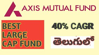 AXIS BLUE CHIP FUND REVIEW : TOP LARGE CAP MUTUAL FUND IN TELUGU AND HINDI (2019)