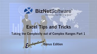 Excel Tips and Tricks: Taking The Complexity Out Of Complex Ranges Part 1