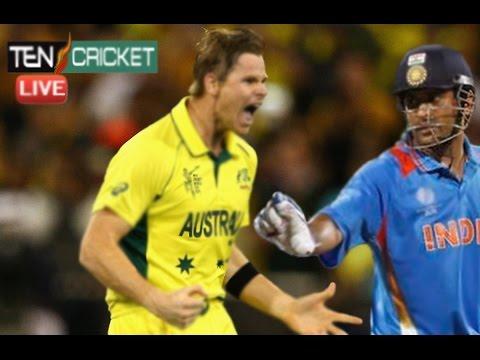 International cricket Australia Vs India 2016 Big Tragedy in the Game-India Vs Australi fight