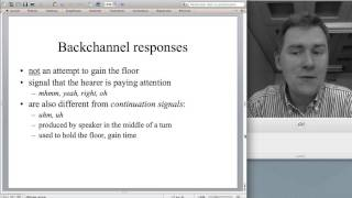 Analyzing spoken conversation