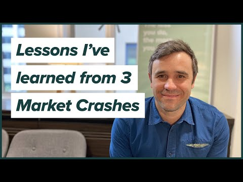What I learned about investing from 3 market crashes | Dotcom Bubble, GFC and COVID-19