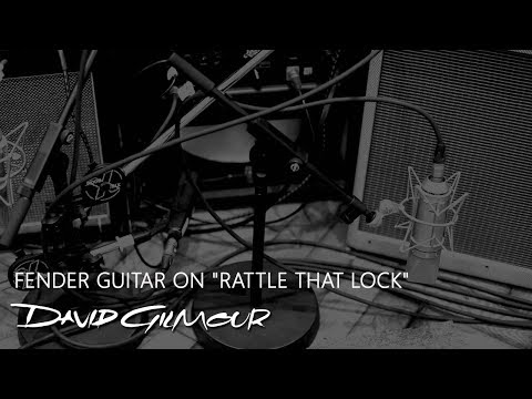 David Gilmour - Fender Guitars on