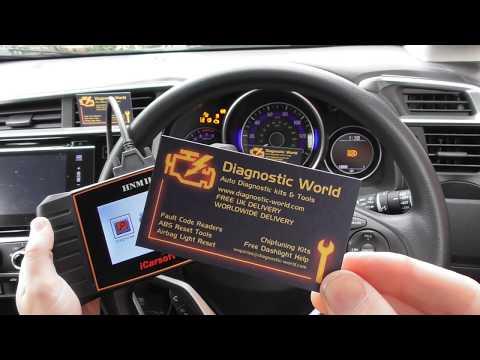 Honda Check Engine Light Diagnose & Reset P0352 iCarsoft HNM II