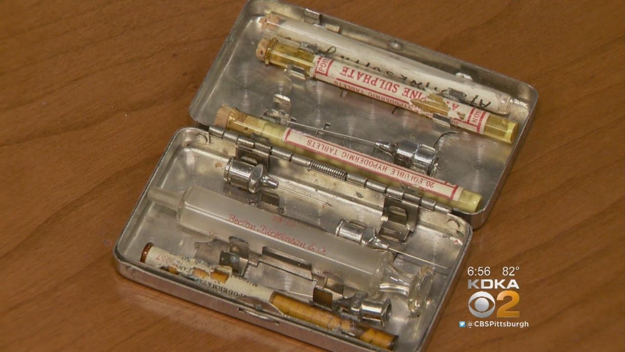 Vintage World War II Medical Kit Found At Sharpsburg Thrift Shop