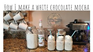 My White Chocolate Mocha Recipe