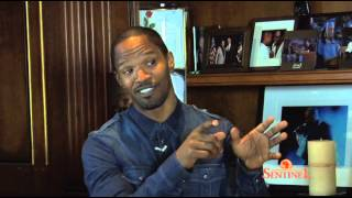 (LASTV) LA Sentinel and Brandon I. Brooks interview Jaime Foxx