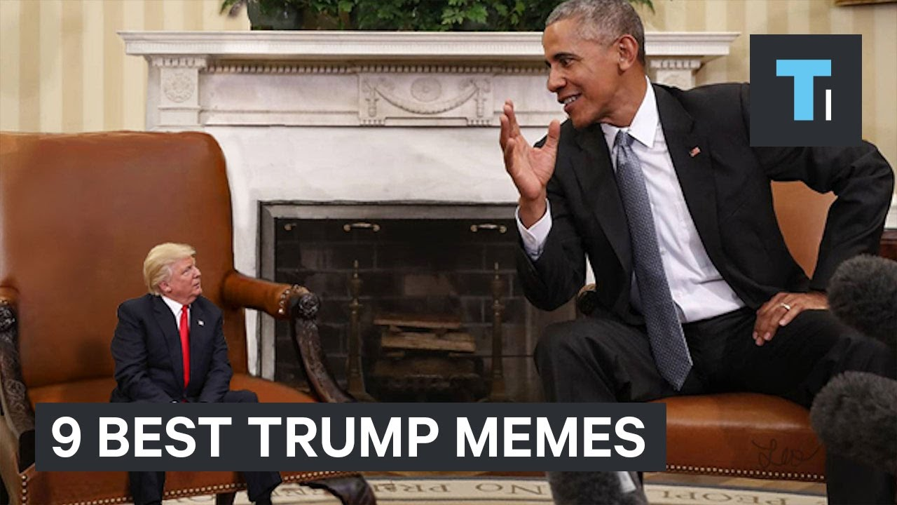 9 Best Memes From Trump S First 100 Days In Office Youtube