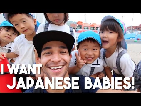 Cute Japanese Babies Everywhere (Traveling Kyoto, Japan)