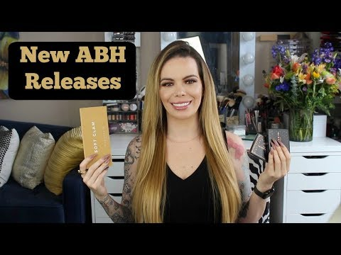 NEW ABH Soft Glam | Bronzers | Amrezy Highlight | Bronzer & Highlight Demo