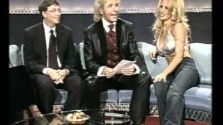 Thomas Gottschalk - Pamela Anderson - Bill Gates - at Wetten Dass - 2000