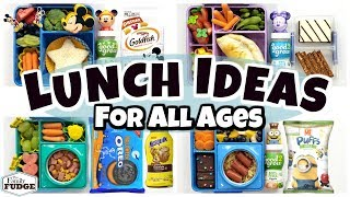 Letting YOU CHOOSE The Lunch 🍎 Lunch Inspiration For All Ages