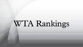 WTA Rankings