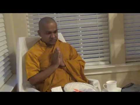 VEN MAWARALE BHADDIYA THERO AT FLOWER MOUND, TEXAS ON 4TH AU