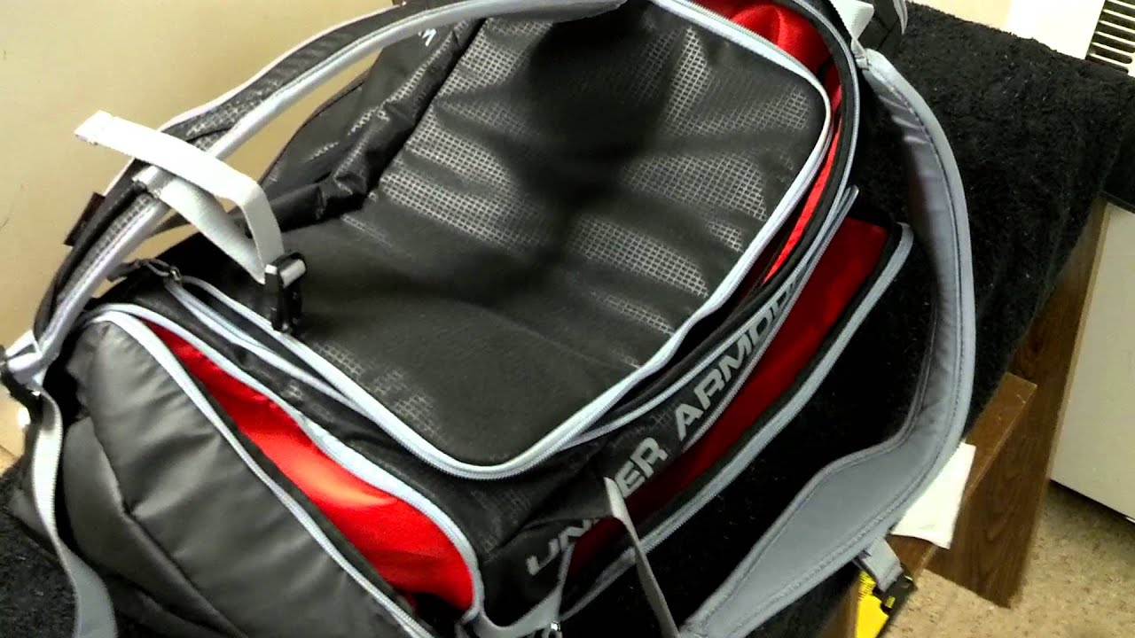 701d39079406 Under Armour Contain Storm Backpack Duffle Style  1248868 - YouTube