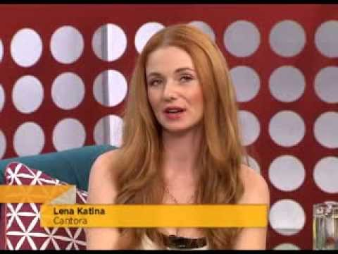 Lena Katina - Interview and Lift Me Up  (Acoustic) -  TV CULTURA (Brazil) Nov/15/2013