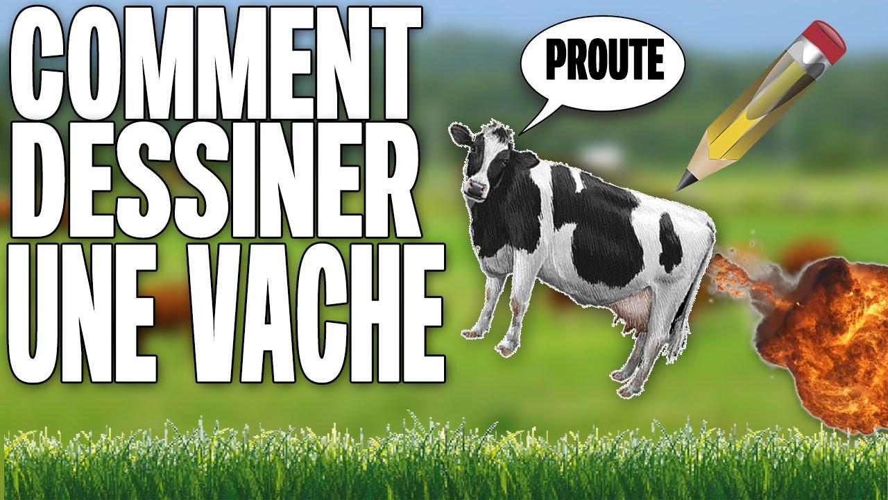 comment dessiner une vache! - youtube