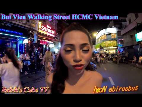 夜のブイビエン通り ベトナム ホーチミン 🇻🇳 / Bui Vien Street Ho Chi Minh City Vietnam Nightlife