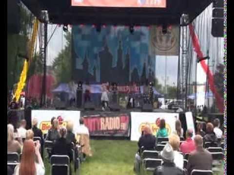 Saltrom - występ taneczny hip-hop - Dzień Rodziny Krakowskiej 2013