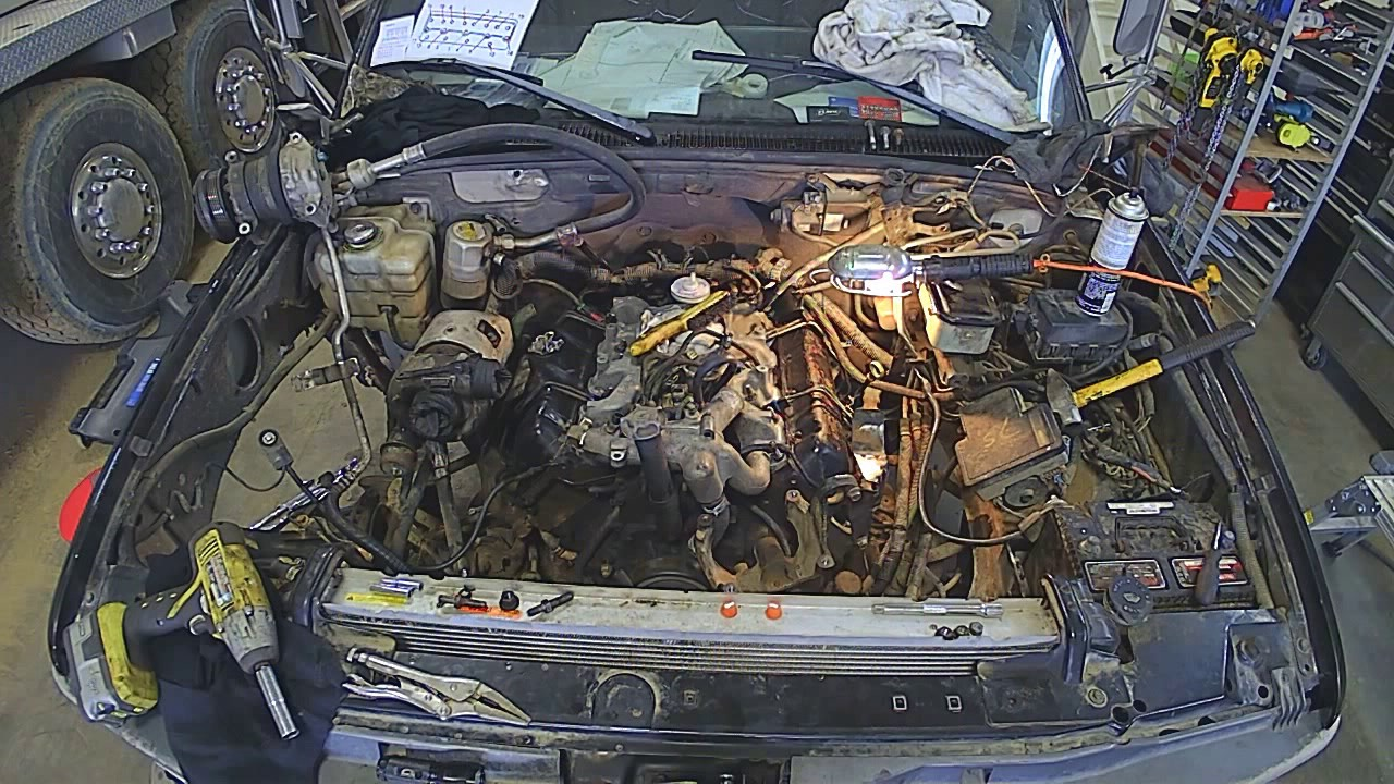65 Diesel Head Gasket Replacement Time Lapse Youtube Gm Duramax Sel Engine