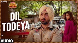 Full Audio: Dil Todeya | Arjun Patiala | Diljit Dosanjh, Kriti Sanon | Sachin - Jigar ,Guru Randhawa