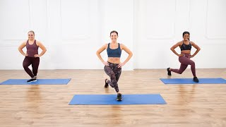 30-Minute Pilates-Fusion Cardio & Full-Body Toning Workout
