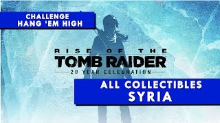 Rise of the Tomb Raider - SYRIA - All Collectibles & Hang