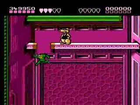 Battletoads Rat Race Warp Guide Youtube