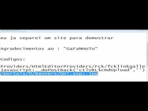 Invadindo sites aspx