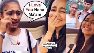 Gambar cover Neha Kakkar Fan Crying After Meeting Her