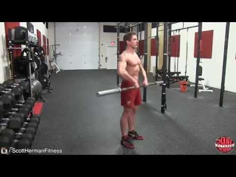 How To: Barbell Upright Row